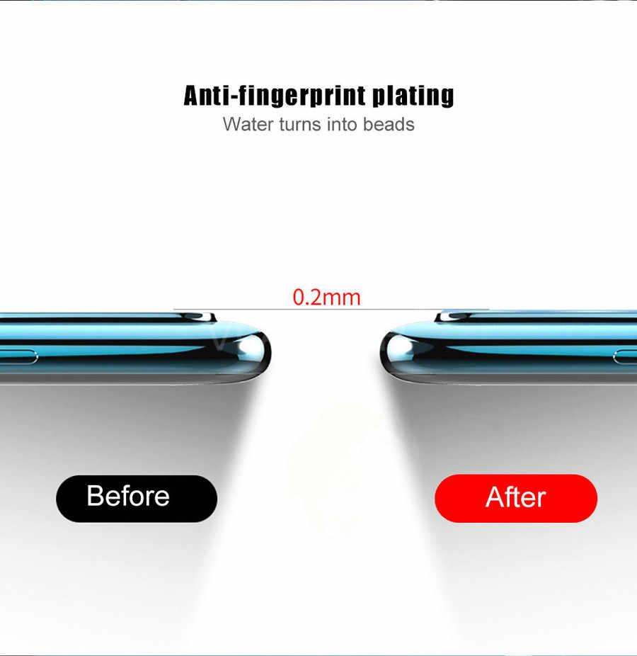 Vidro temperado para lente da câmera samsung, 2 peças a51 a71 a10 a30 a40 a50 a70 a80 a90 a7 a8 protetor de tela a9 m30s s20 ultra