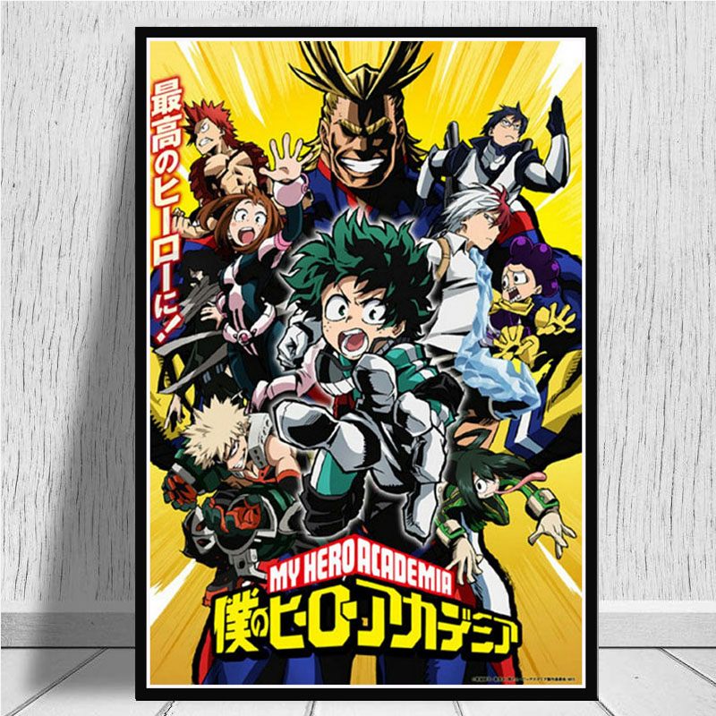 Posters And Prints Boku No Hero My Hero Academia Anime Pictures On The Wall Canvas Painting Art Decoration Home Decor Cuadros