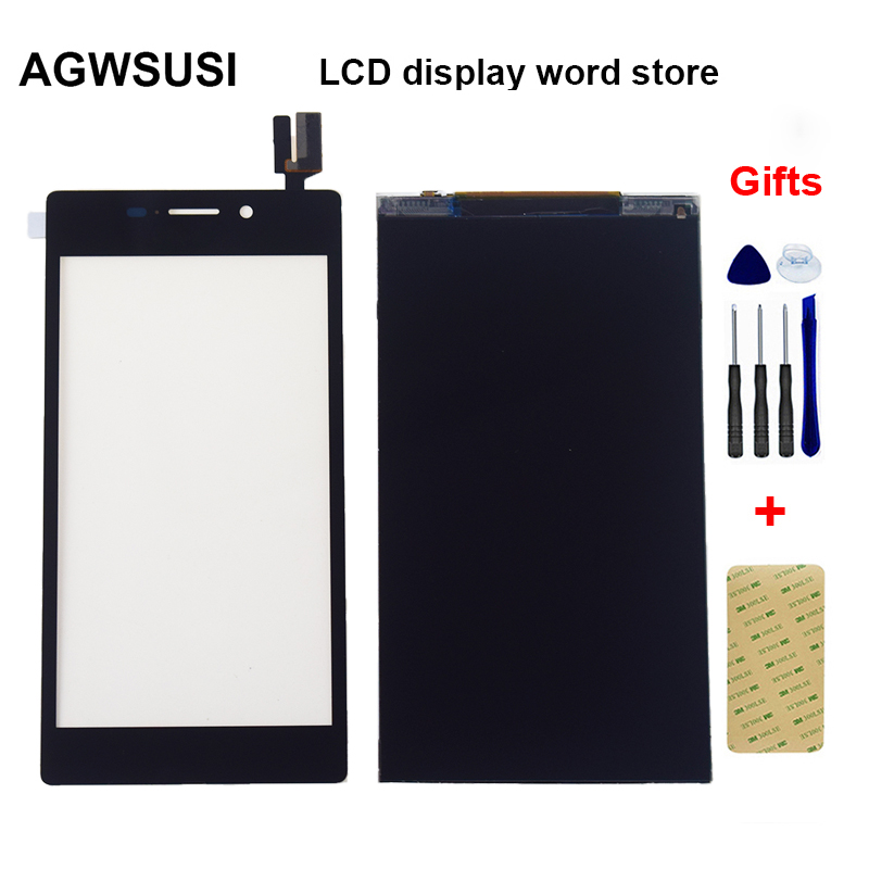 For SONY XPERIA M2 AQUA D2403 D2406 4G / LTE LCD Display Monitor display panel + Touch Screen Digitizer Sensor Panel Glass|Mobile Phone LCD Screens| |  - title=