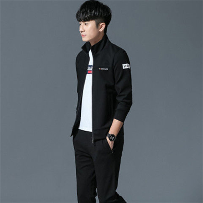 Leisure Sports Suit Men's Three-piece Suit Youth Sports Suit Women's Guard Suit Three-piece Suit