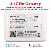 WL Box1 2.4GHz Cổng Wifi Điều Khiển Có Thể Thông Minh Ứng Dụng Điện Thoại/Alexa/Google Trợ Lý Điều Khiển Giọng Nói MiBOXER 2.4GHz RF Dòng Sản Phẩm