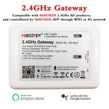 WL Box1 2.4GHz ağ geçidi wifi denetleyicisi akıllı telefon APP/alexa/Google asistan ses kontrolü MiBOXER 2.4GHz RF serisi ürün