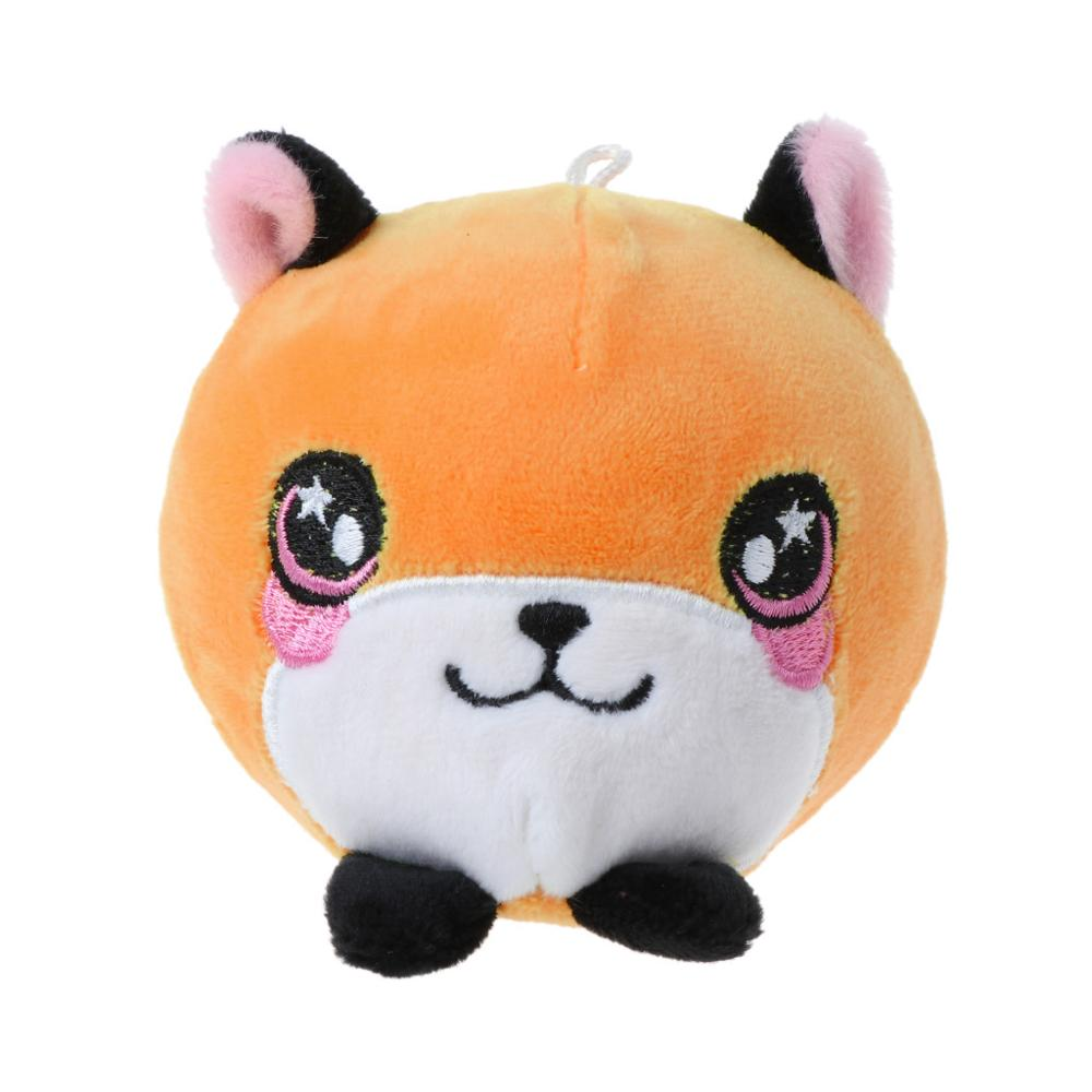 Decompression Squeeze Toys Plush Cartoon Chick Ball Slow Rebound Stress Reliever