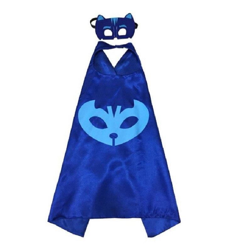 Pj máscaras capa juguete catboy owlette gekko figuras trajes de halloween anime cosplay decoração aniversário presente brinquedos para crianças