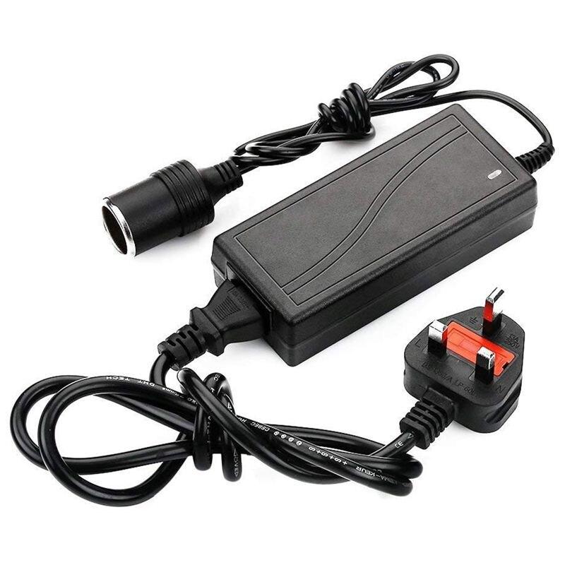 Штепсельная Вилка стандарта Великобритании, гнездо для прикуривателя, адаптер переменного тока в постоянный ток 110 240 В до 12 В 5A, автомобильное зарядное устройство, конвертер|Зажигалка|   | АлиЭкспресс