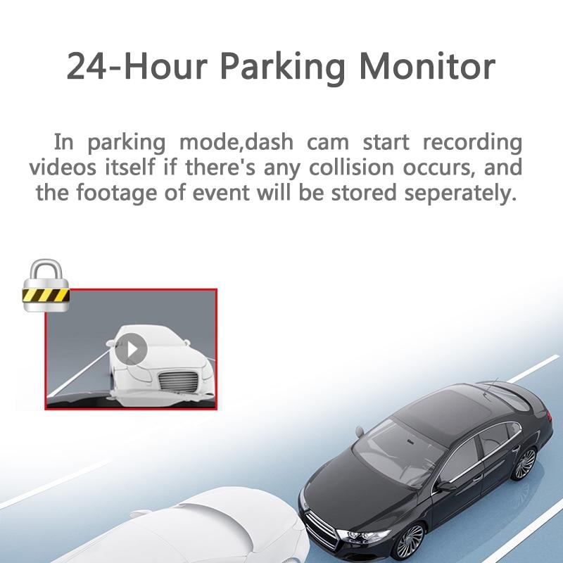 Night Vision DDPAI Technology D10879 DDPai Mini3 1600P WiFi Dash Cam with F1.8 Aperture 140 Wide Angle 360 Degree Rotating Car DVR Dash Camera Built-in 32G eMMC Storage Card Loop Recording G-Sensor