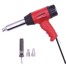 Plastic Welding Hot Air Gun TAK-700B 700W 220V Thermostat Hot Air Blower Heat Gun Heater Soldering For car bumper