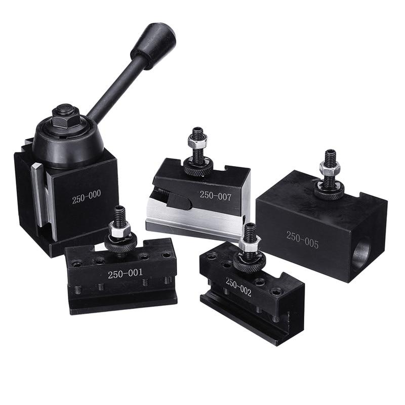 DMC-250-000 Wedge GIB Type Quick Change Tools Kit Tool Post 250 001-010 Tool Holder For Lathe Tools