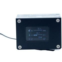 PC chłodnica wodna inteligentny komputer przepływ prędkość temperatura wykrywanie chłodnica wodna przepływomierz. LSJ-ZN