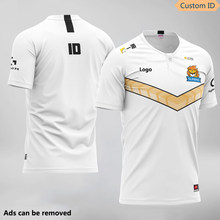 Lol g2 dwg fpx ig te rng uzi esports uniforme da equipe camiseta camisa 2020 lol csgo jogador de jogos camiseta fãs tshirt