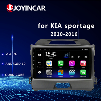 Android 9.1/10 for KIA Sportage 2010-2016 2Din Car Radio Multimedia Player 2 Din Autoradio Video GPS Navi WiFi FM no dvd image