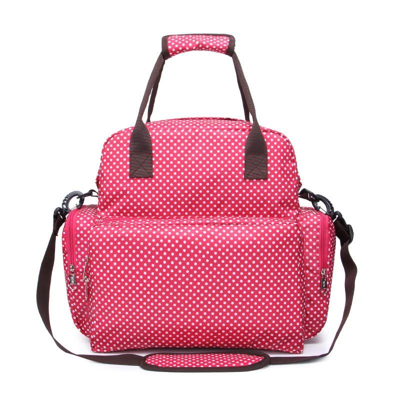Diaper bag baby care mom backpack handbag travel waterproof anti-fouling backpack large capacity fashionable car bag bottle bag