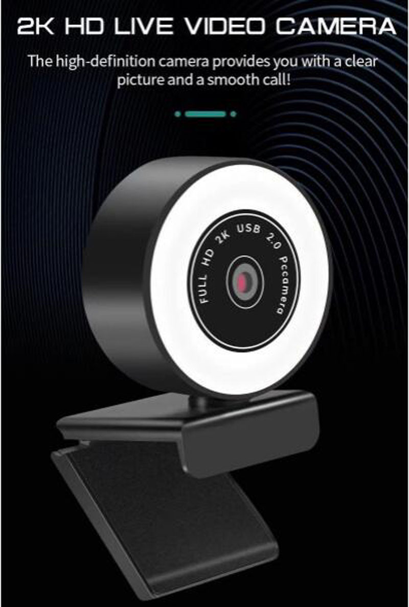 com redução de ruído micr embelezando câmera de luz