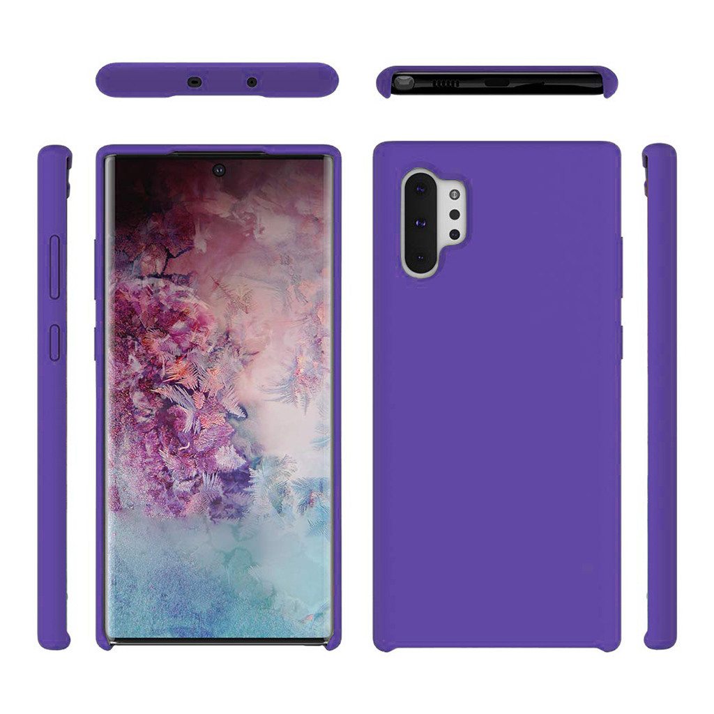 6.8In Stylish Personality Phone Case For Samsung Galaxy Note 10+/Plus Slim Ultra-Thin Silicone Leather Soft Case Cover