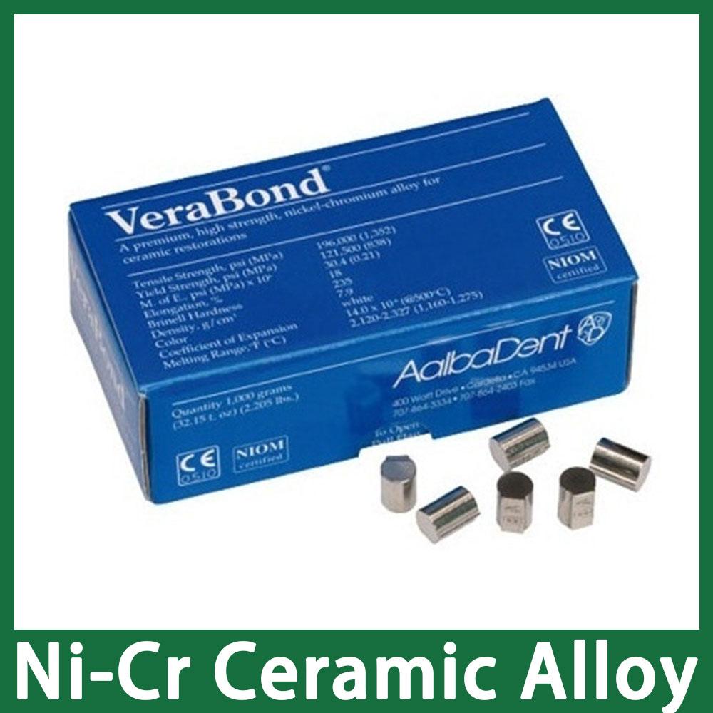 VeraBond Premium High Strength Nickel-Chromium Alloy for Ceramic Restorations