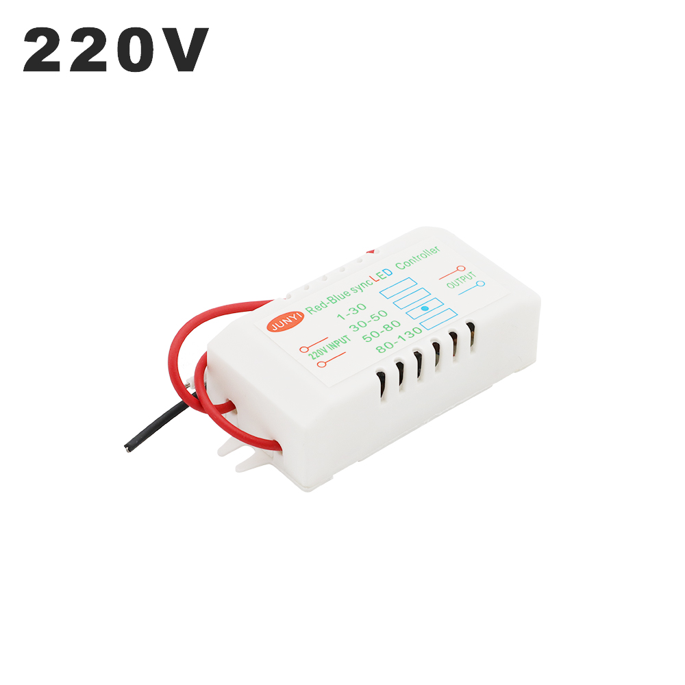 220V Input Red-Blue Synchronous Double Controller Sync LED Dedicated 1-80pcs Electronic Transformer Power Supply LED Driver image