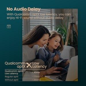 Image 3 - Bluetooth трансмиттер Ugreen, Bluetooth 5.0 наушники для ТВ, ПК, PS4, aptX LL, 3,5 мм, AUX, SPDIF, оптический и аудио разъем 3,5 мм, адаптер для музыки Bluetooth 5.0