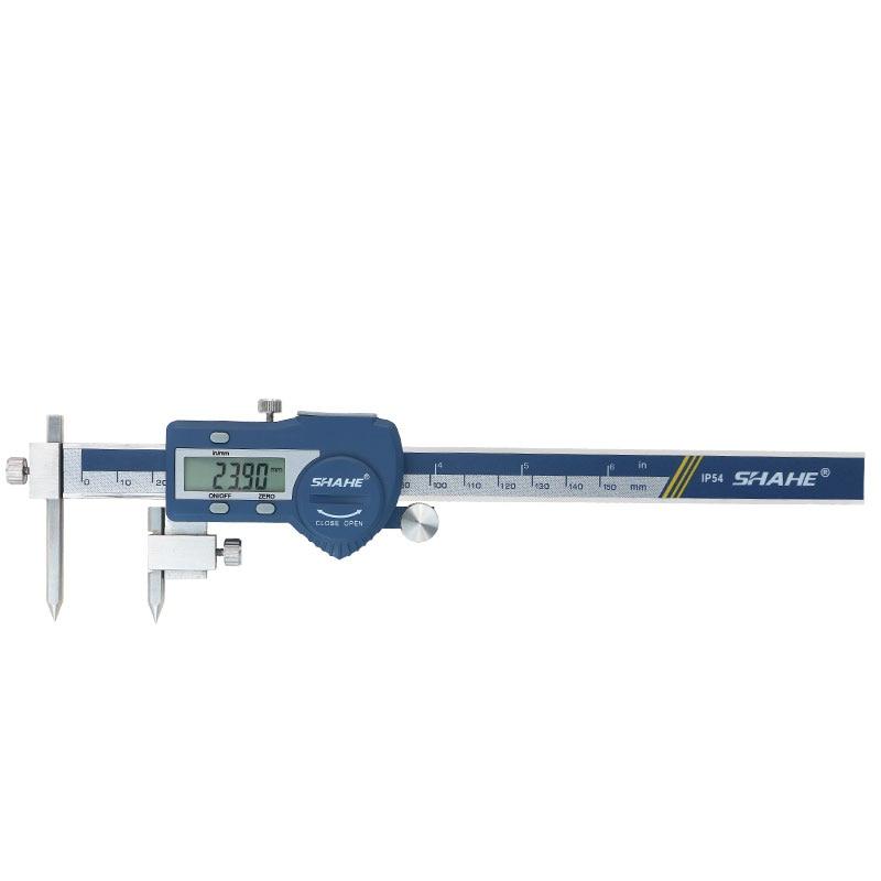 5 Center Digital Digital Vernier Micrometer Caliper Stainless Caliper Distance Electronic 150 Mm Paquimetro Digital Steel