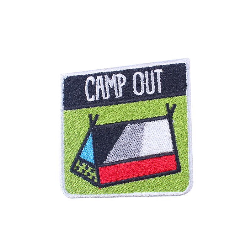 Eisen Auf Patches Camping Wildnis Patch Auf Kleidung Gestickte Patches Für Kleidung Patch Nähen Auf Kleid Bekleidung Zubehör