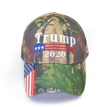 New Donald Trump 2020 Cap Camouflage USA Flag Baseball Caps Keep America Great Snapback Hat Embroidery Star Letter Camo Army