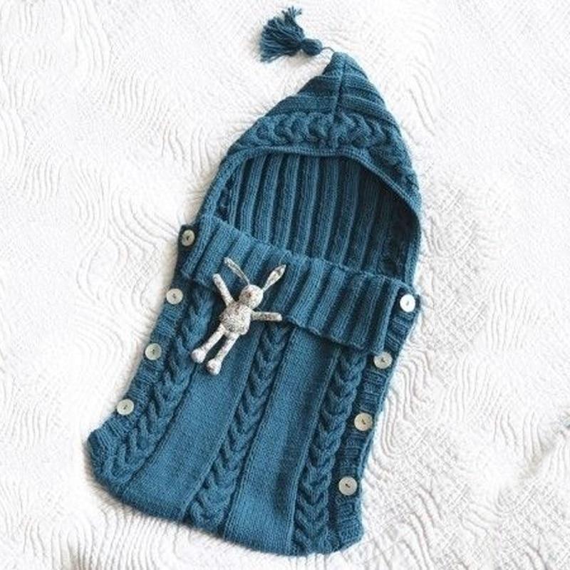 Geckatte New Knitted Wool Blanket Baby Blankets Newborn Baby Born Swaddle Blankets Bedding Baby Wrap Stuff Baby Bath Funny