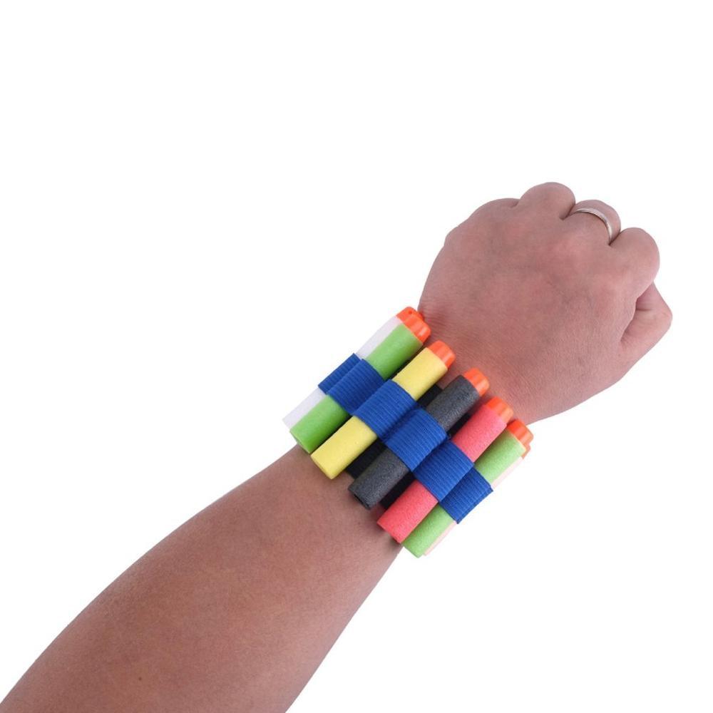 1PCS EVA Safety Elastic Wrist Band Storage Soft Bullets For Nerf Gun Toy Children Game Toys For Children