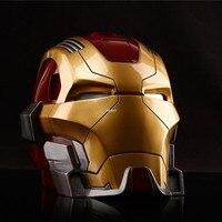 Superhero Iron Man Heartbreaker Tony Stark MK17 The Avengers Creative Saving Box Art Craft Resin Action Model Toy BOX 13CM Z2647