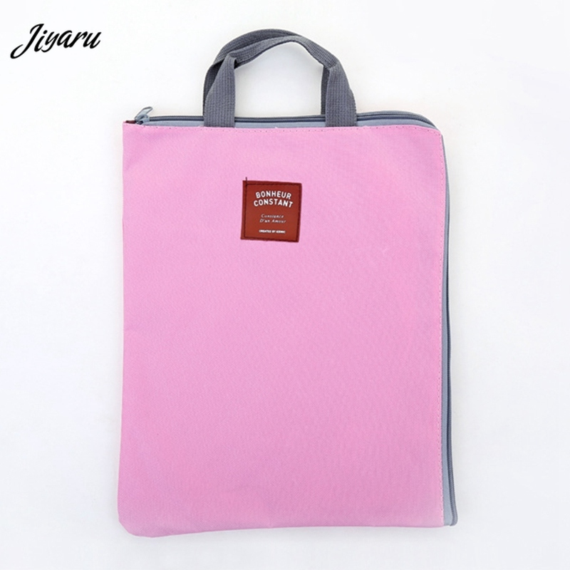 New Poetable Laptop Bags Notebook Sleeve Case A4 Storage Bags Laptop Organizer Folder Document Bags Zipper Computer Handbags