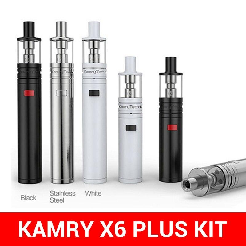 Vape Pen Kamry X6plus Kit Box Mod With 18650 Or 18350 Battery Cigarette Electronique Atiomer Vaporizador Ego EGOD Pen S1658