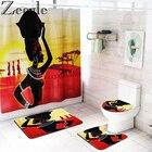 African Girl Shower ...