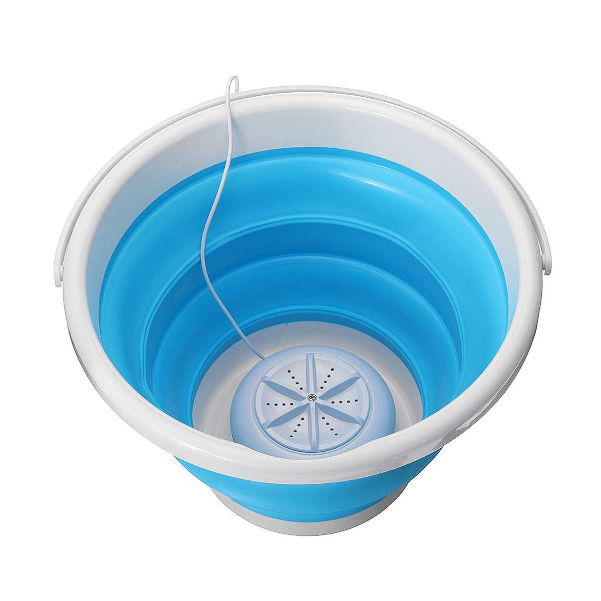 Ультразвуковая турбо Автоматическая Электрическая роликовая мини стиральная машина портативная быстрая очистка моющий инструмент для путешествий на открытом воздухе