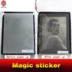 Image 5 - Real life room escape prop Magic sticker Adventure props power up verbazingwekkende sticker te zien verborgen aanwijzingen Kamer spel rekwisieten