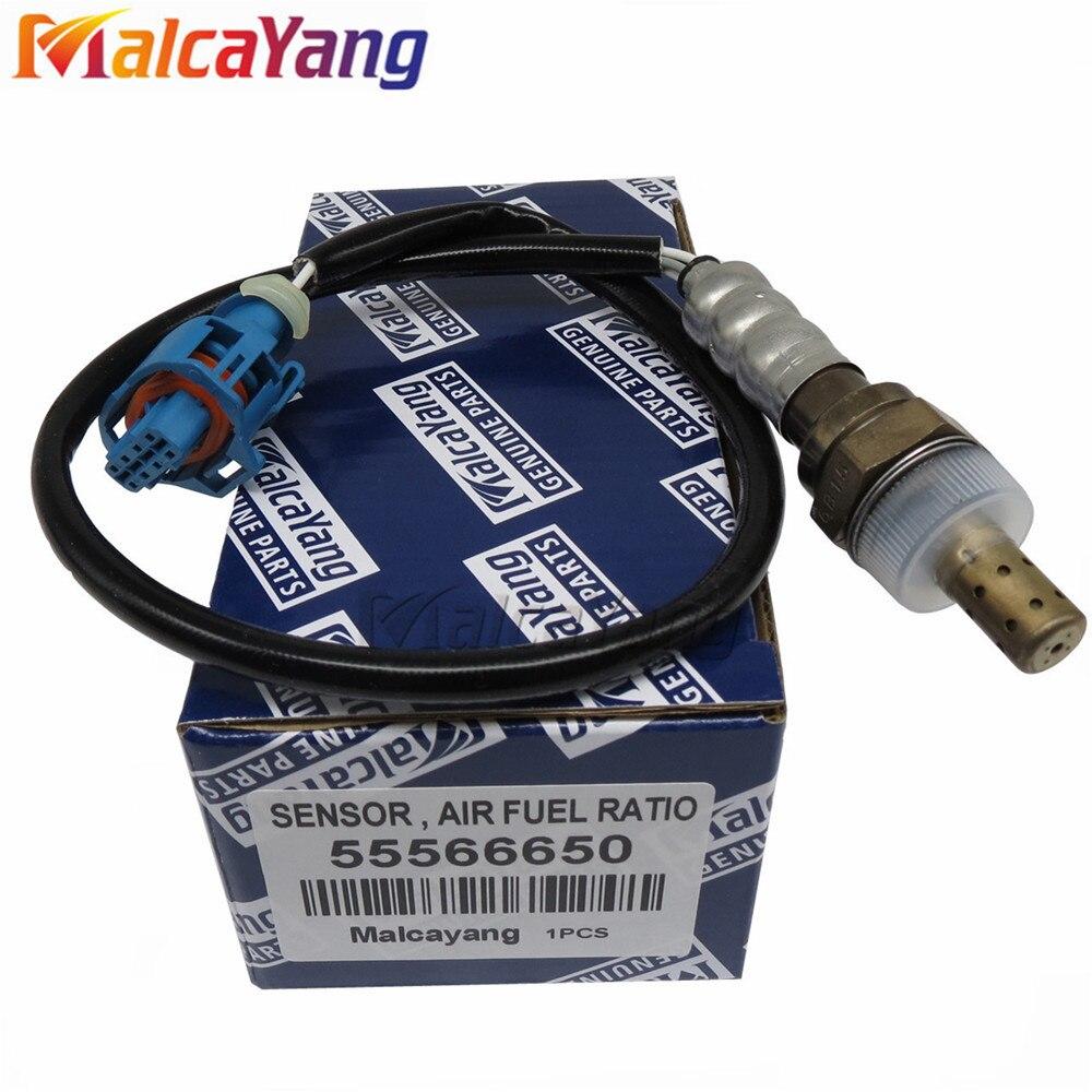 Frente relação de combustível ar o2 sensor oxigênio para chevrolet cruze j300 1.6 orlando j309 1.8 55566650