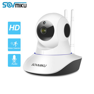 Image 1 - Cámara IP inalámbrica CCTV 1080P 720P para bebés, Monitor de seguridad para el hogar, visión nocturna infrarroja, vídeo de vigilancia, cámara con seguimiento automático