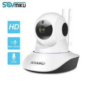 Image 1 - 와이파이 CCTV 1080P 720P IP 카메라 무선 베이비 모니터 홈 보안 적외선 야간 비디오 감시 자동 추적 카메라
