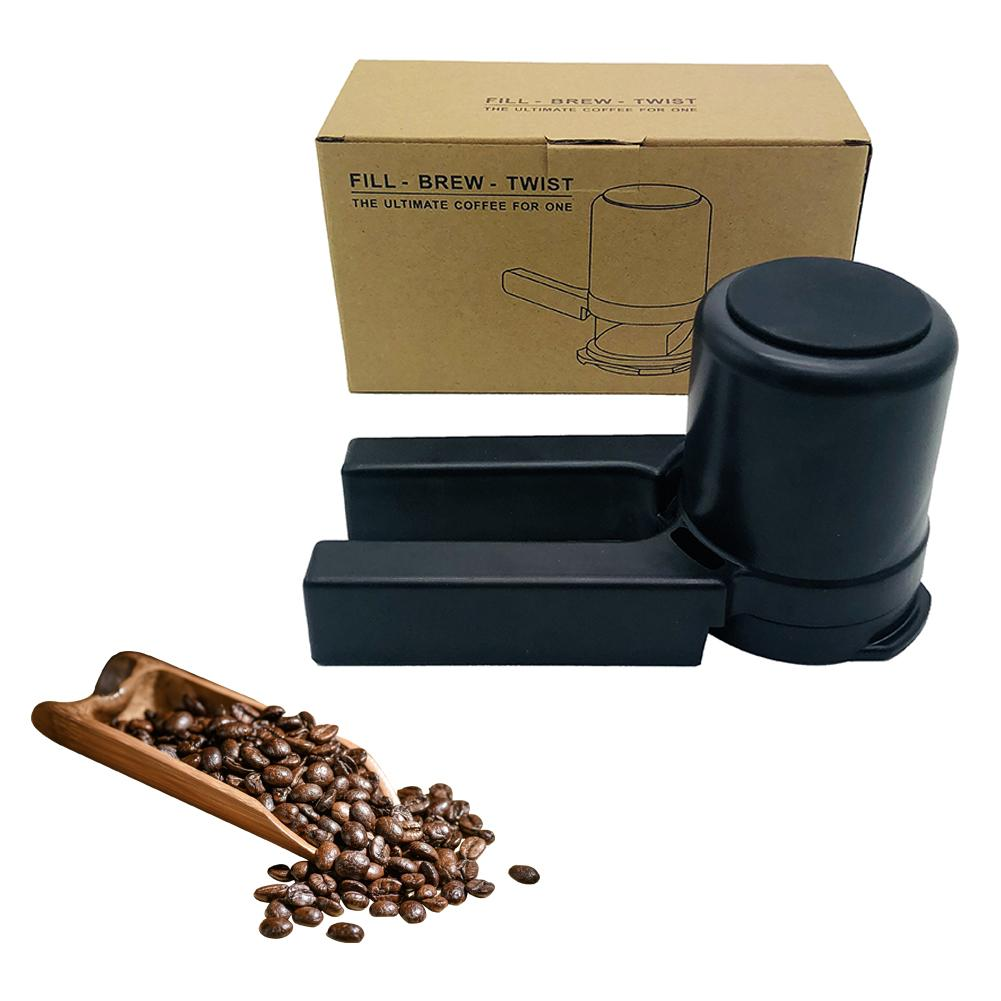 Manual Coffee Grinder Portable Mini Coffee Maker With Filter Home Use DIY Coffee Machine Crusher