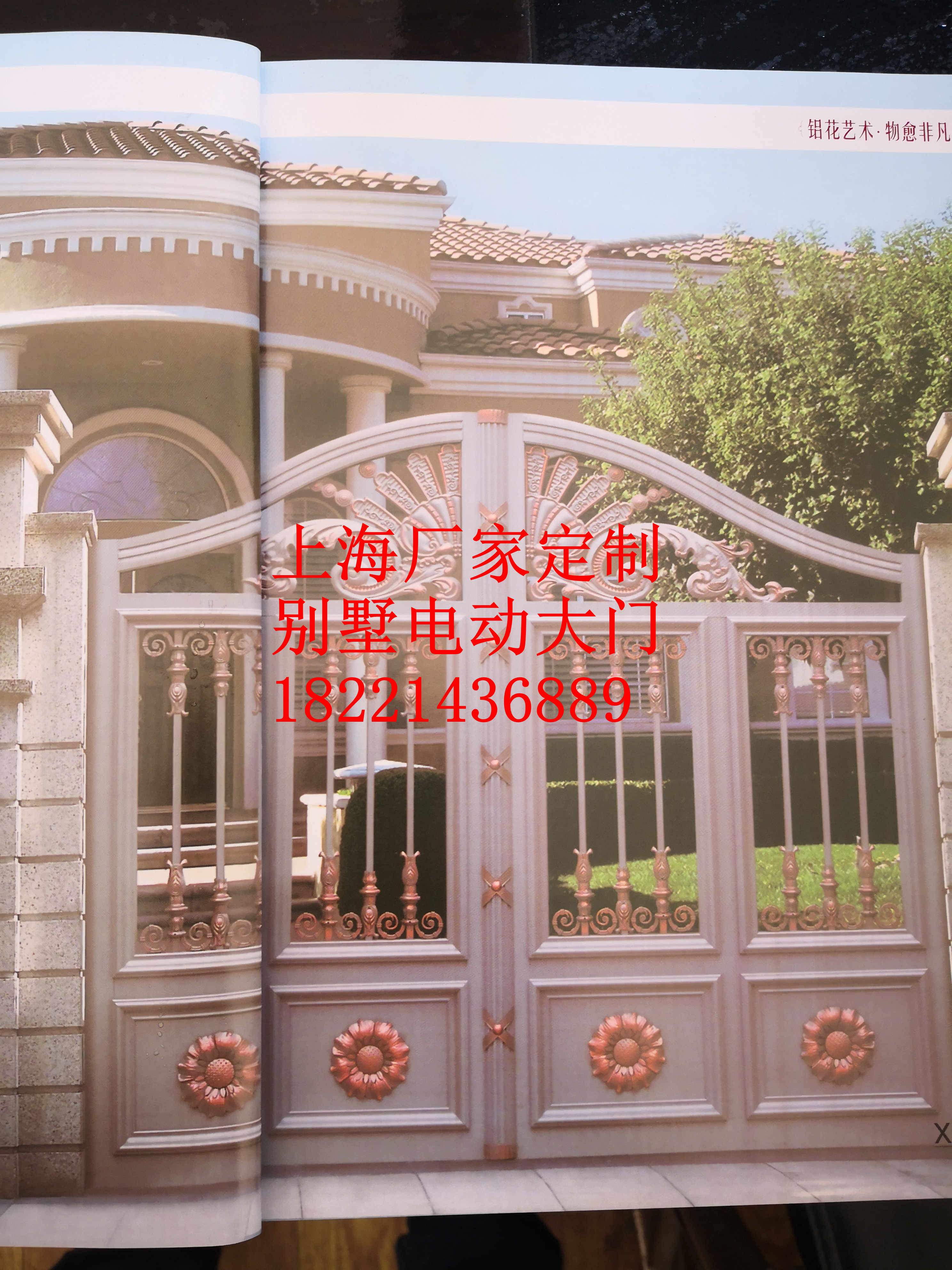 house gate designs/main entrance gate design/cast aluminum metal gates near me hc-a8 image