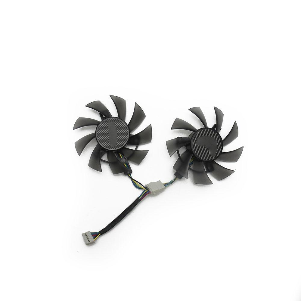 95mm ASUS GTX580 GTX680 HD7950 HD7970 Fan Replacement 40mm 4Pin T129025SU R60