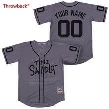 Спортивный костюм из Джерси Sandlot, цвет серый, под заказ, любое имя, любое количество, высокое качество