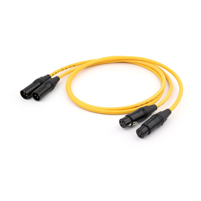 شحن مجاني إقران D 102 III الهجين ايفي الصوت كابل ربط مع فان دن الهول سدادة RCA