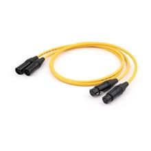 Darmowa wysyłka para w D 102 III hybrydowy HiFi Audio kabel połączeniowy z Van Den Hul wtyczka RCA