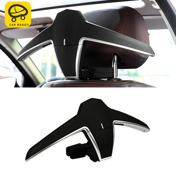 CARMANGO Car Clothes Hanger Coat Stand Seat Headrest Stand Jackets Suits Holder Rack for BMW 1 3 5 7 Series X1 X3 X4 X5 X6 image