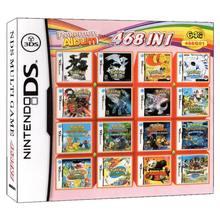 468 em 1 pokemon álbum vídeo game cartão cartucho console cartão compilação para nintendo ds 3ds 2ds nds ndsl ndsi