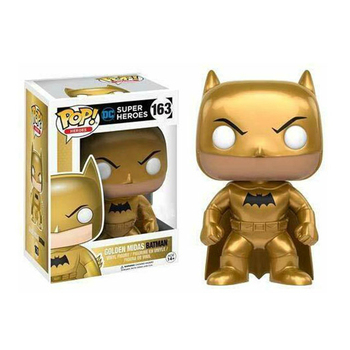 Funko Pop GOLDEN MIDAS BATMAN #163 Vinyl Action Figure Dolls Toys 1