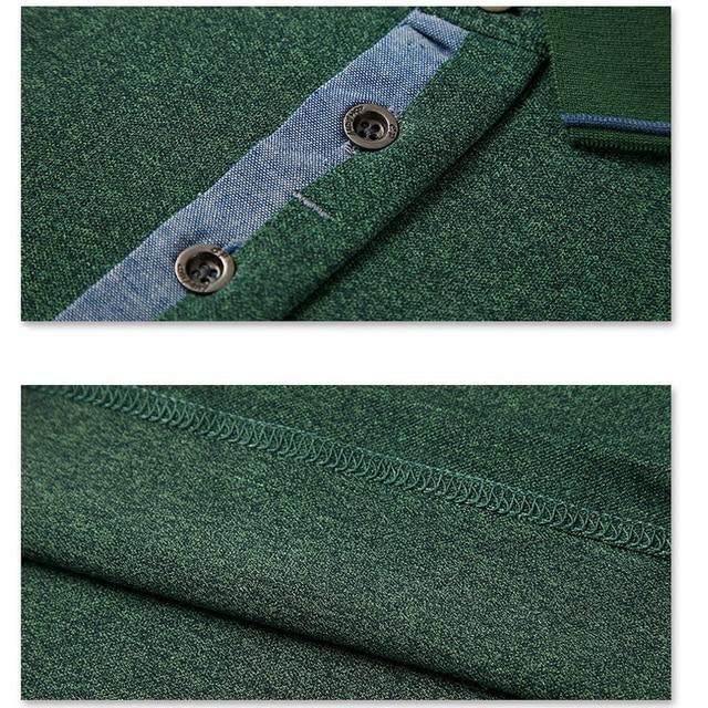 Summer Men Polo Shirt Mens Classic Solid Polo Shirts Cotton Shirt 6XL Large Size Casual Fashion Men Outwear Clothing Tops Tees 5