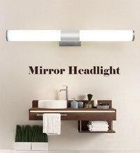 Modern Acrylic Wall Lamp 12W 16W 22W 85-265V Led Mirror Light Waterproof LED Tube Bathroom Lighting Bath