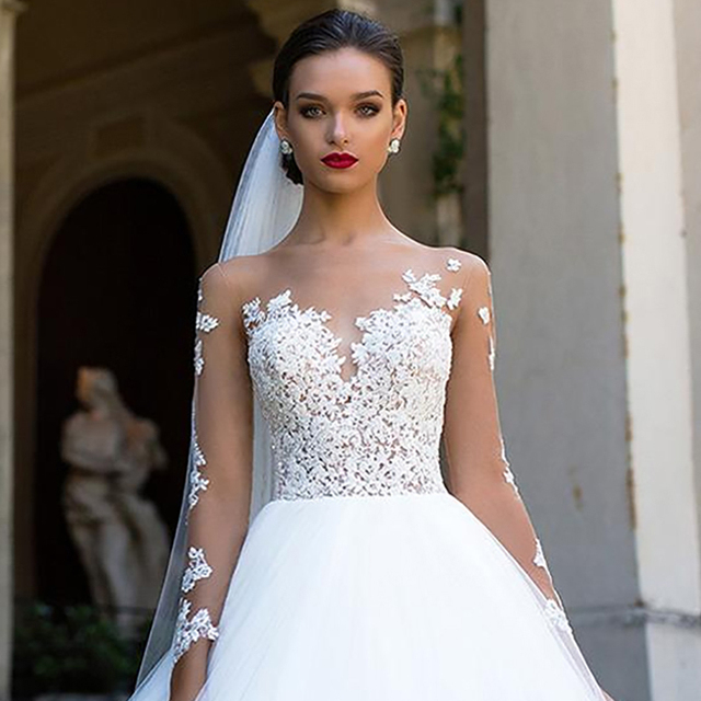 Long Sleeve Wedding Dress 5