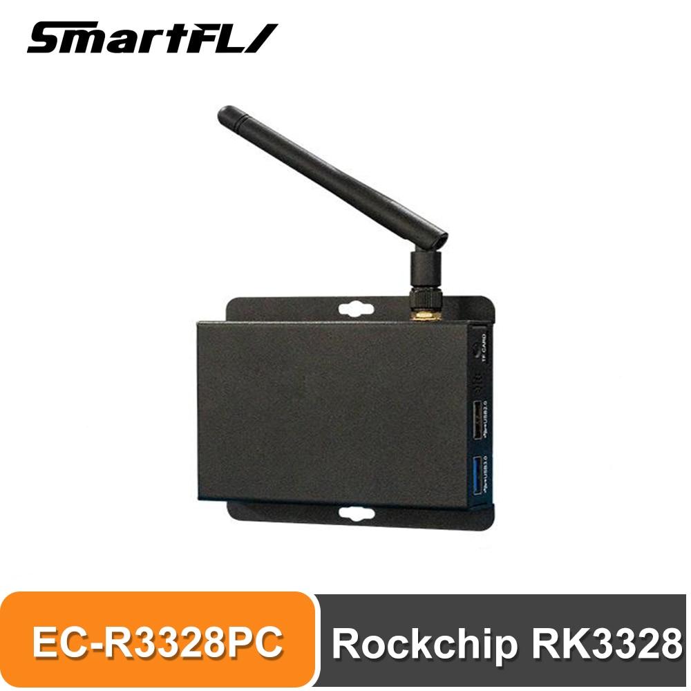 Smartfly Firefly Mini PC EC-R3328PC Rockchip RK3328 Quad-core ARM⑧ Cortex-A53 64-bit procesor 1.5GHz wsparcie Android, Ubuntu