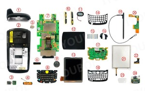 Image 4 - Keypad PCB (Numeric) Replacement for Symbol MC65 MC659B