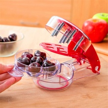 Practical Durable Cherry Fruit Remover Olive Core Corer Remove Pit Tool Seed Gadget Home Container Kitchen Accessories